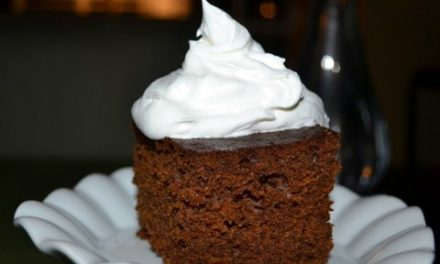 Homemade Gingerbread Cake
