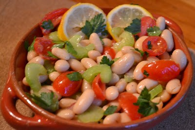 Girlfriend Salad ~ Italian White Bean