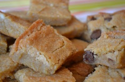 Blondies and Being Thankful