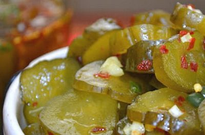 Sweet Heat Pickles