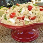 Couscous with Feta, Tomatoes & Basil