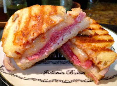 The Barbecued Italian Panini