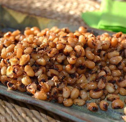 Fried Black Eyed Peas