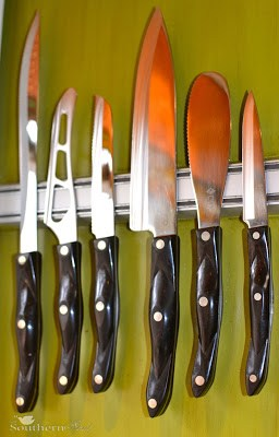 Favorites From My Kitchen ~ Knife Magnet Bar