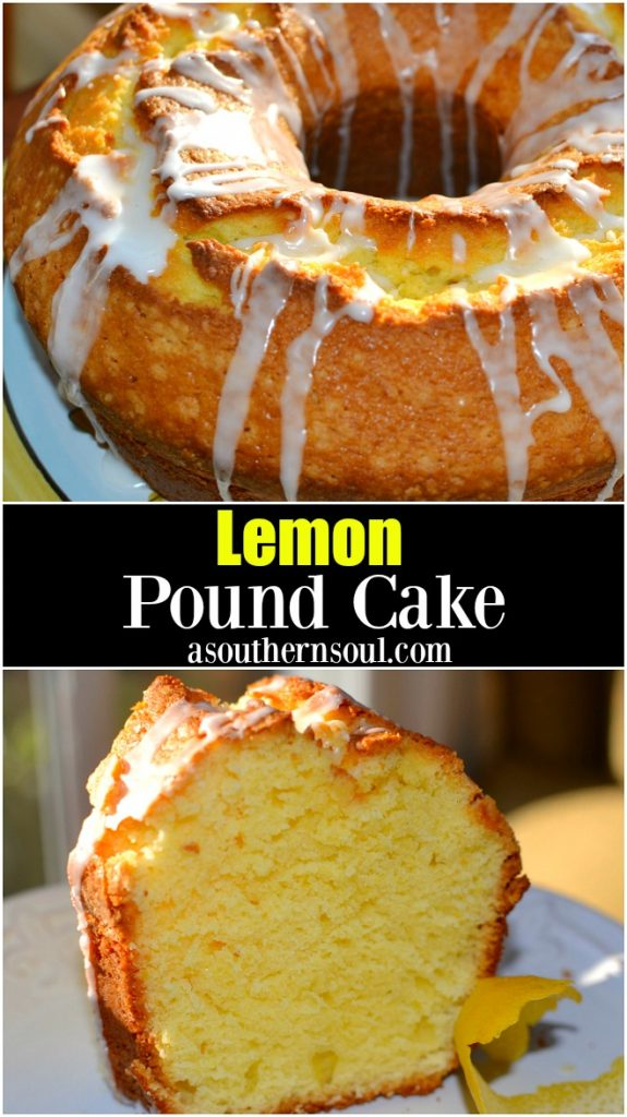 Lemon pound cake made with fresh squeezed lemon and zest is a cake that is hard to resist!