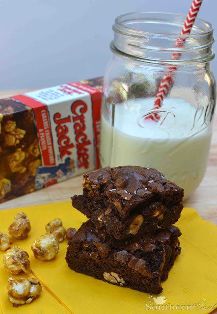 Cracker Jack Brownies