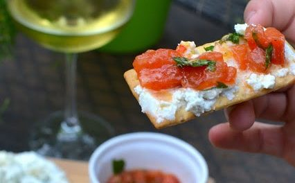Cheese & Tomato Appetizer