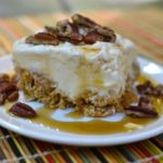 Ice Cream Squares with Maple Syrup & Pecans