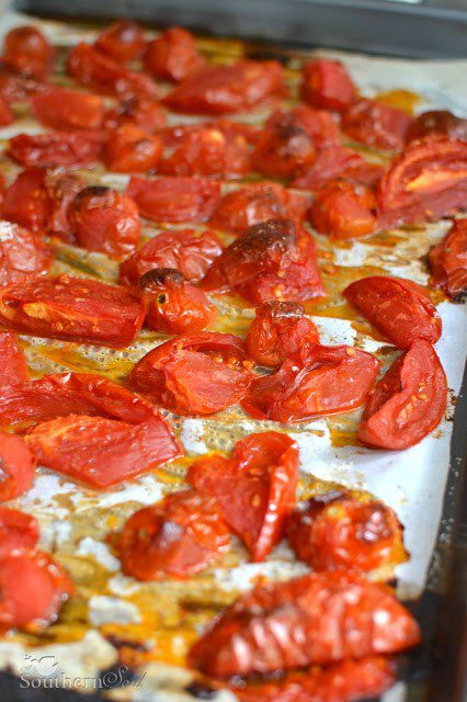 Roasted Tomatoes & Freezing Tips