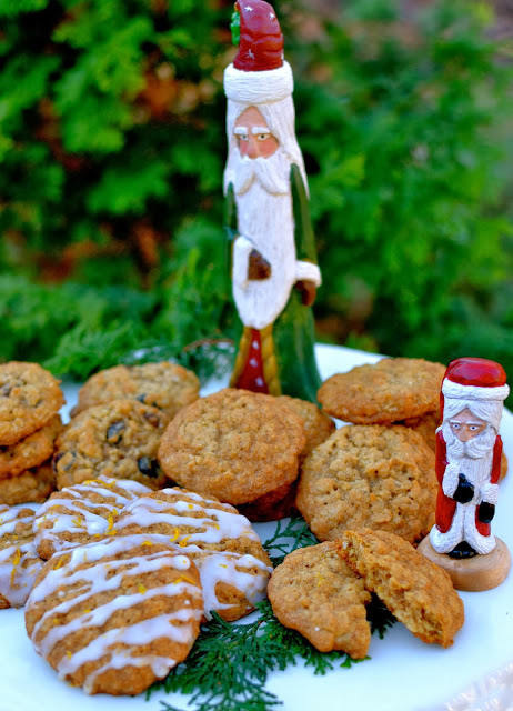 Oatmeal cookies with Orange Glaze | A Southern Soul