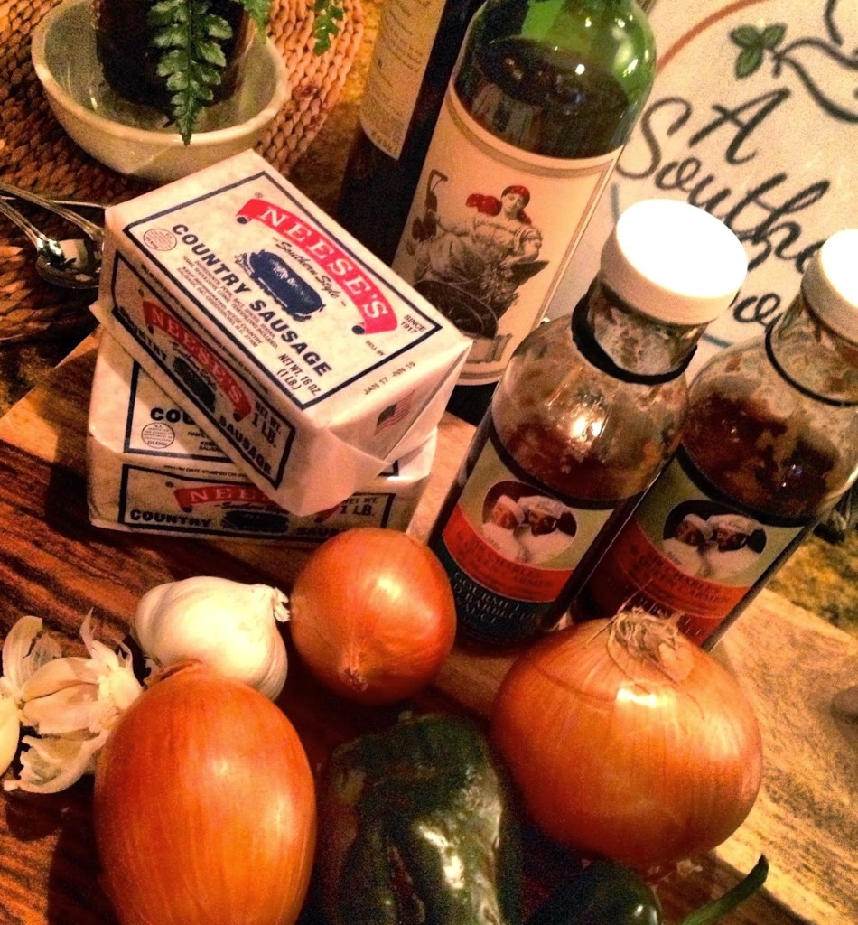 A Southern Soul   Chili Ingredients