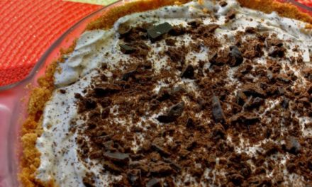 Thin Mints Ice Cream Pie