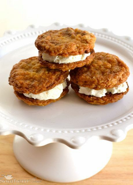 Cinnamon Cookie Ice Cream Sandwiches