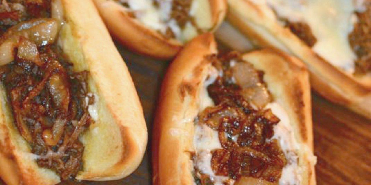 Roast Beef & Cheese Sandwiches