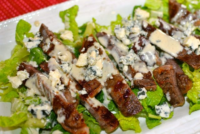 Steak Salad with Vinaigrette Dressing | A Southern Soul