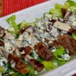 Grilled Steak Salad with Creamy Vinaigrette Dressing