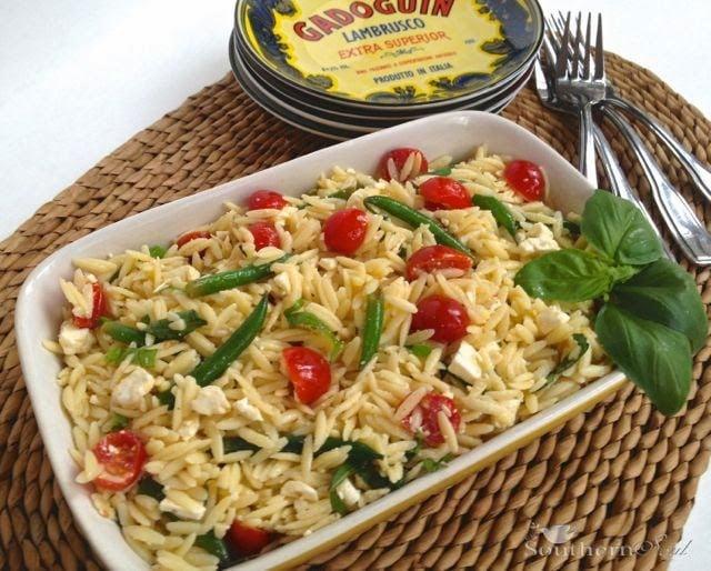 Orzo Pasta Salad | A Southern Soul