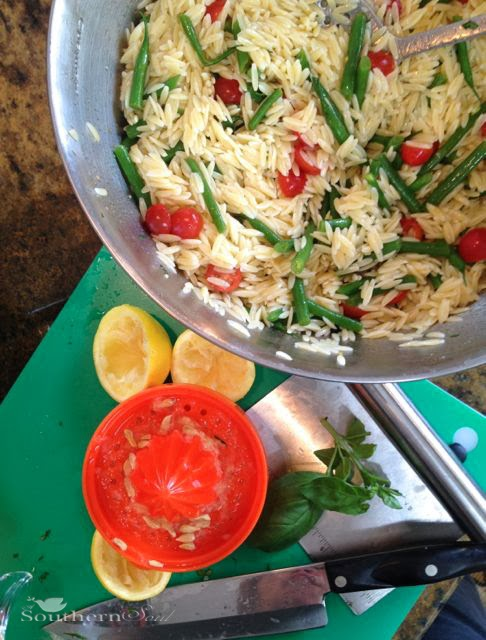 Orzo Pasta Salad with Tomatoes & Feta   A Southern Soul