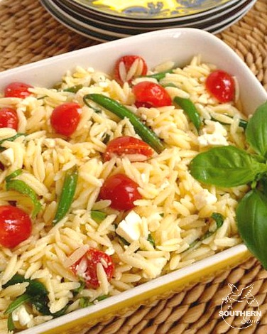 Orzo Salad with Tomatoes