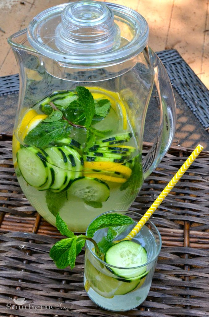 Healthy Infused Water | A Southern Soul