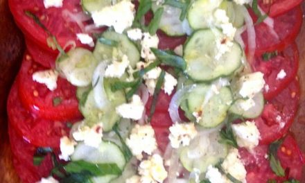 Tomato Cucumber Summer Salad