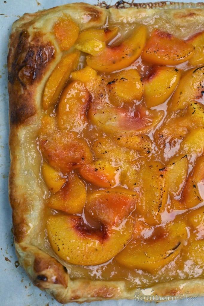 http://www.asouthernsoul.com/2013/06/12/peach-tar/