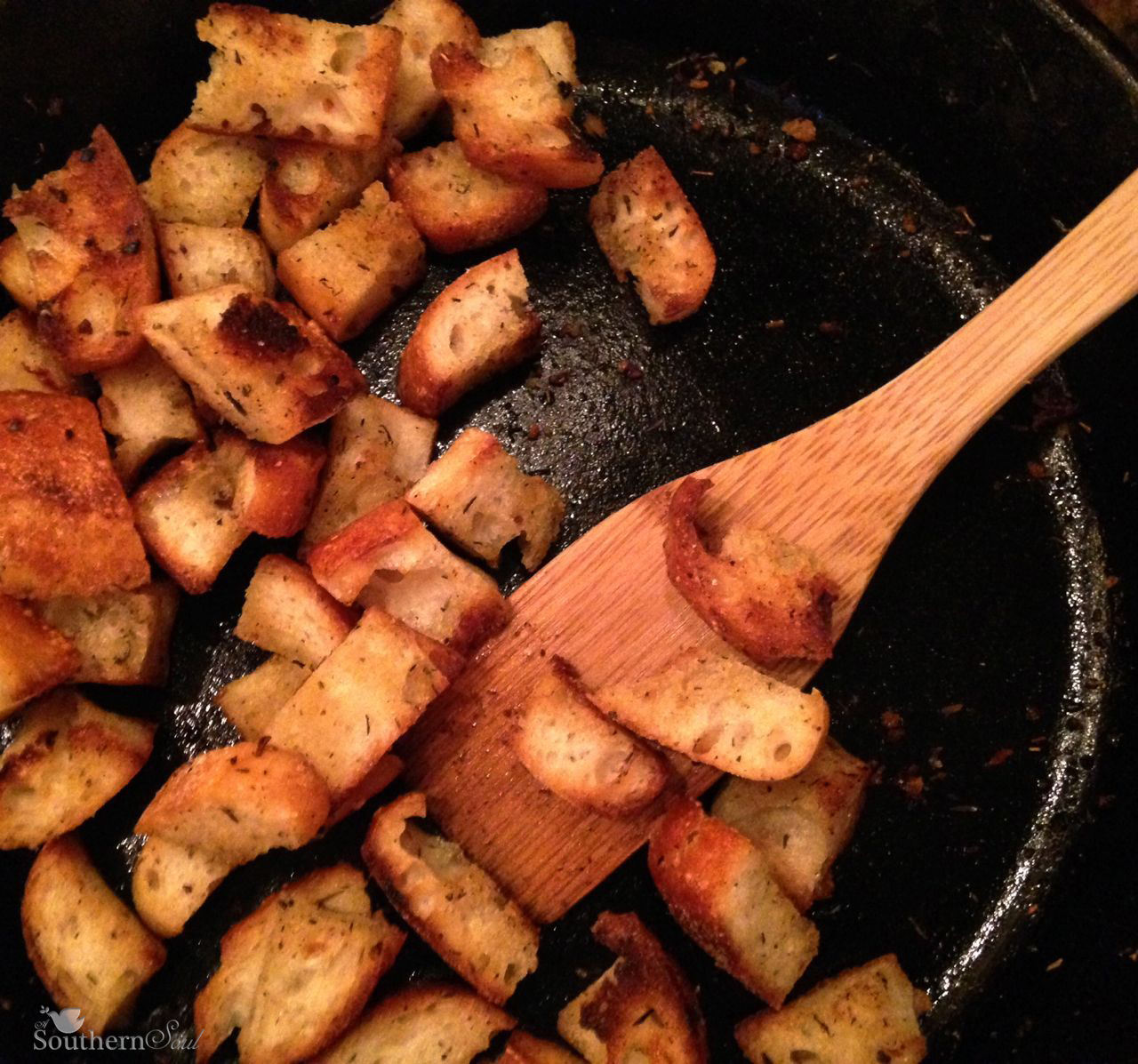 croutons-in-panwm