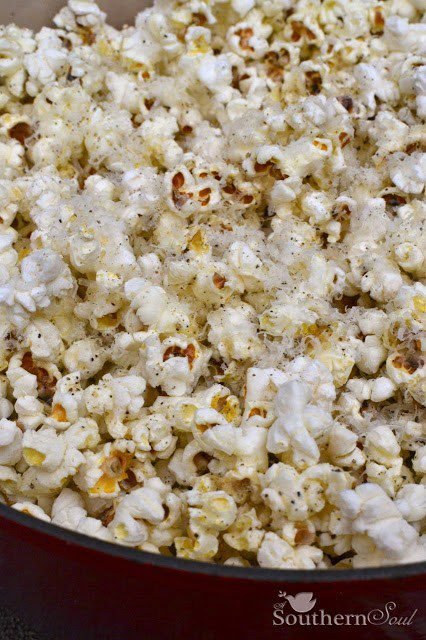 Parmesan Salt & Pepper Popcorn