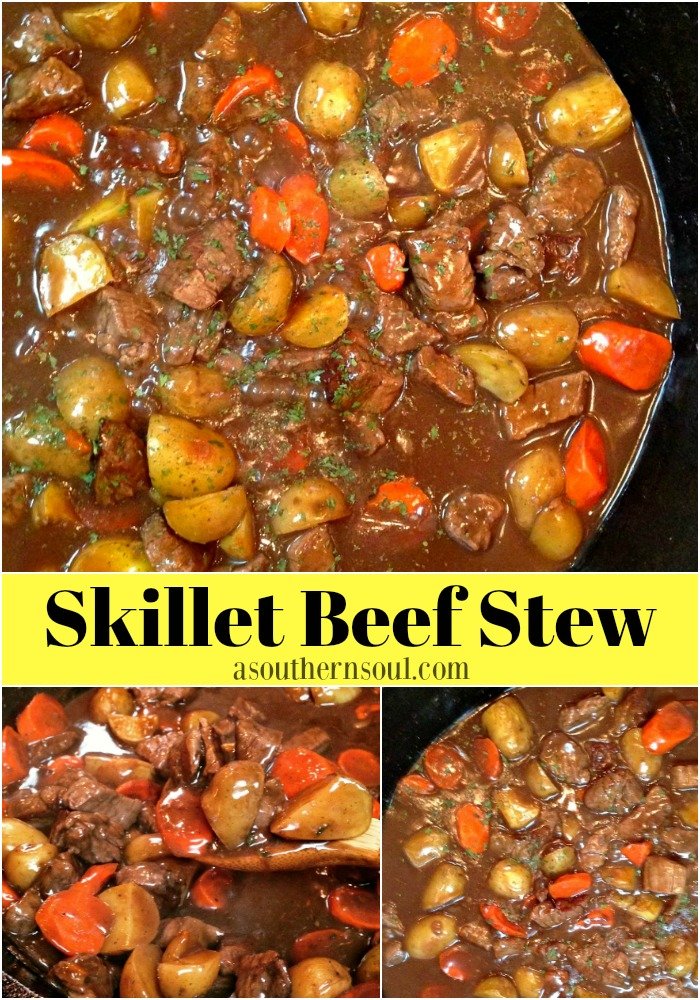 skillet beef stew