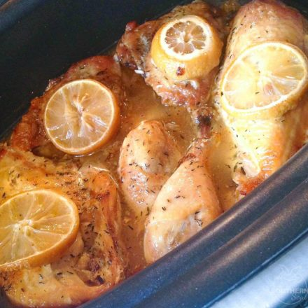 Crock Pot Lemon Chicken