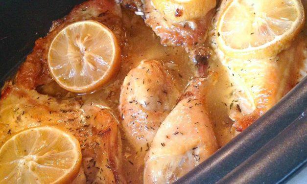 Crock Pot Lemon Chicken