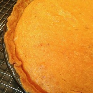 Sweet Potato Pie is a classic southern dessert that's irresistible! Make with simple ingredients and a prepared pie crust, this pie is perfect for a weeknight meal and is a MUST on your holiday table.