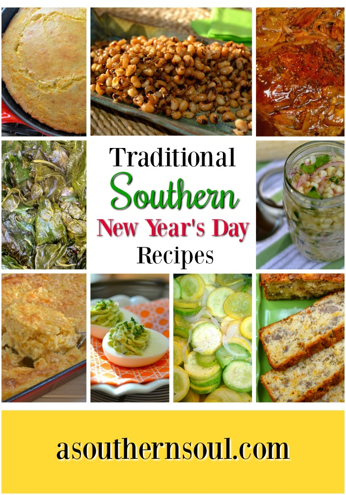 Traditional New Year's Day recipes to ring in the new year deliciously.