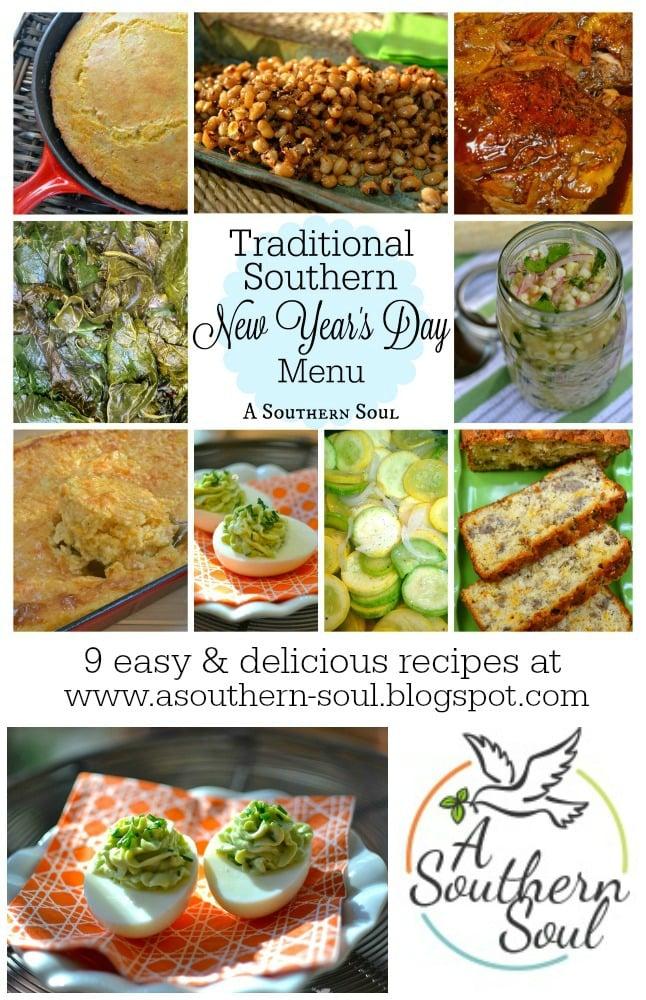 new year day menu pin