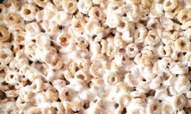 Honey Nut Marshmallow Treats