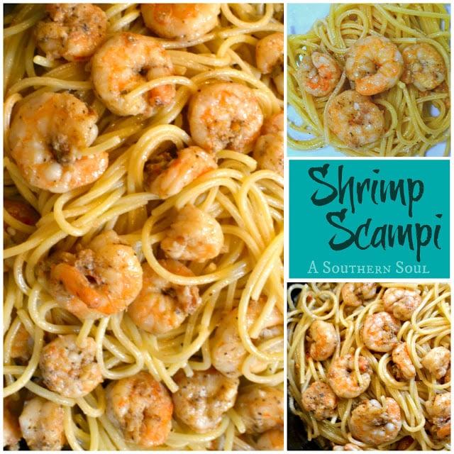 Shrimp Scampi | A Southern Soul