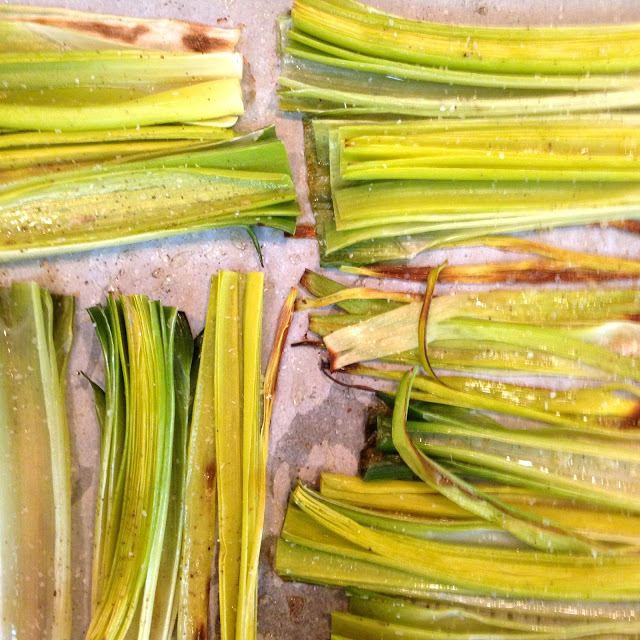 Oven Roasted Leeks | A Southern Soul