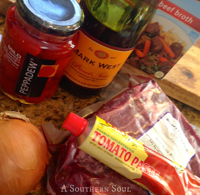 Pot Roast Ingredients | A Southern Soul