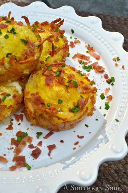 Bacon & Egg Hashbrown Nests