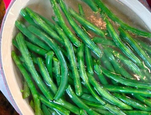 Green Beans 3 Ways ~ Blanched, Roasted & Grilled