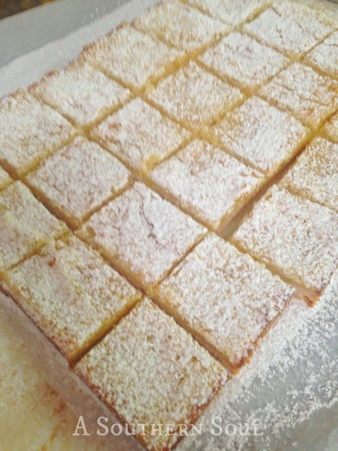 Lemon Bars | A Southern Soul