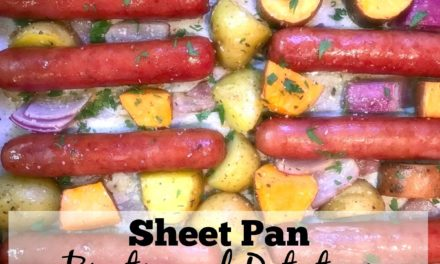 Sheet Pan Brats & Potatoes