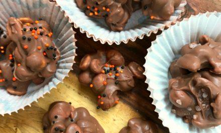 Chocolate Peanut Crock Pot Candy