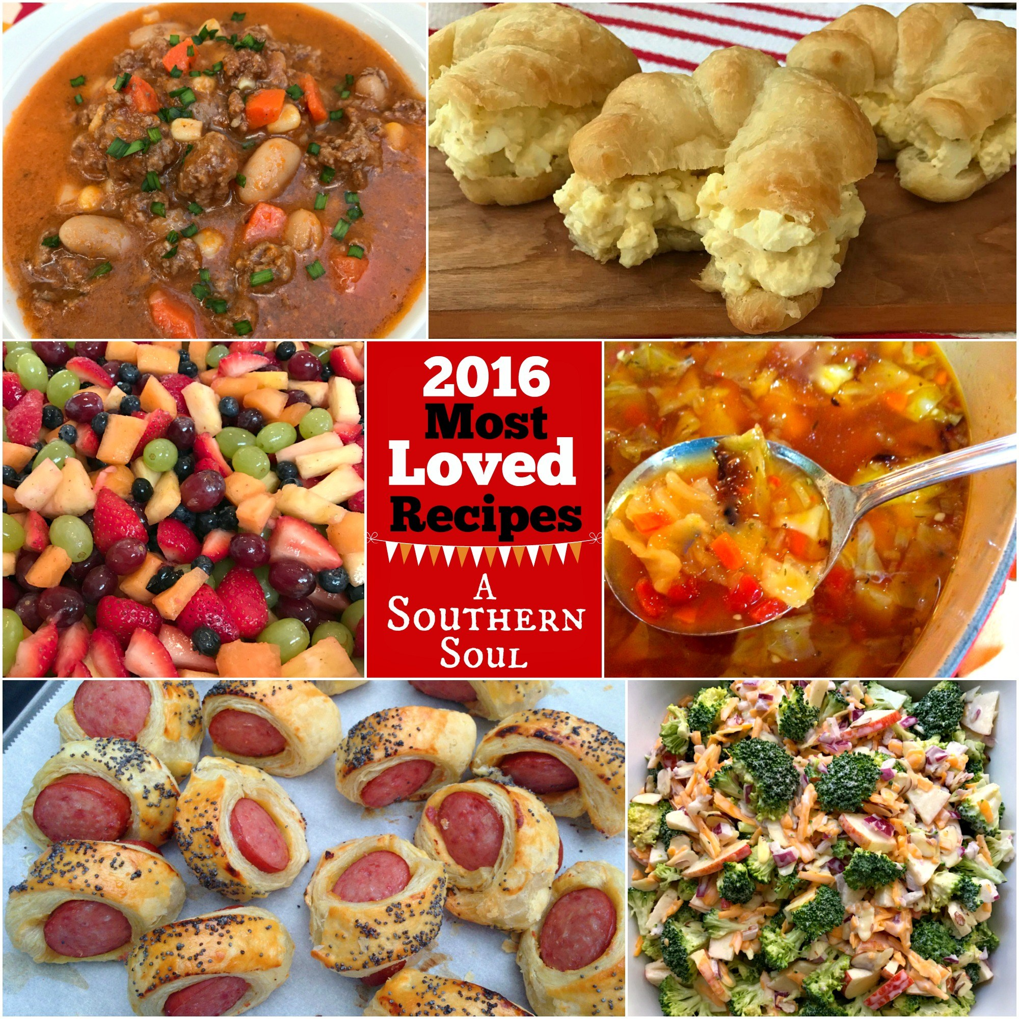 recipes from 2016