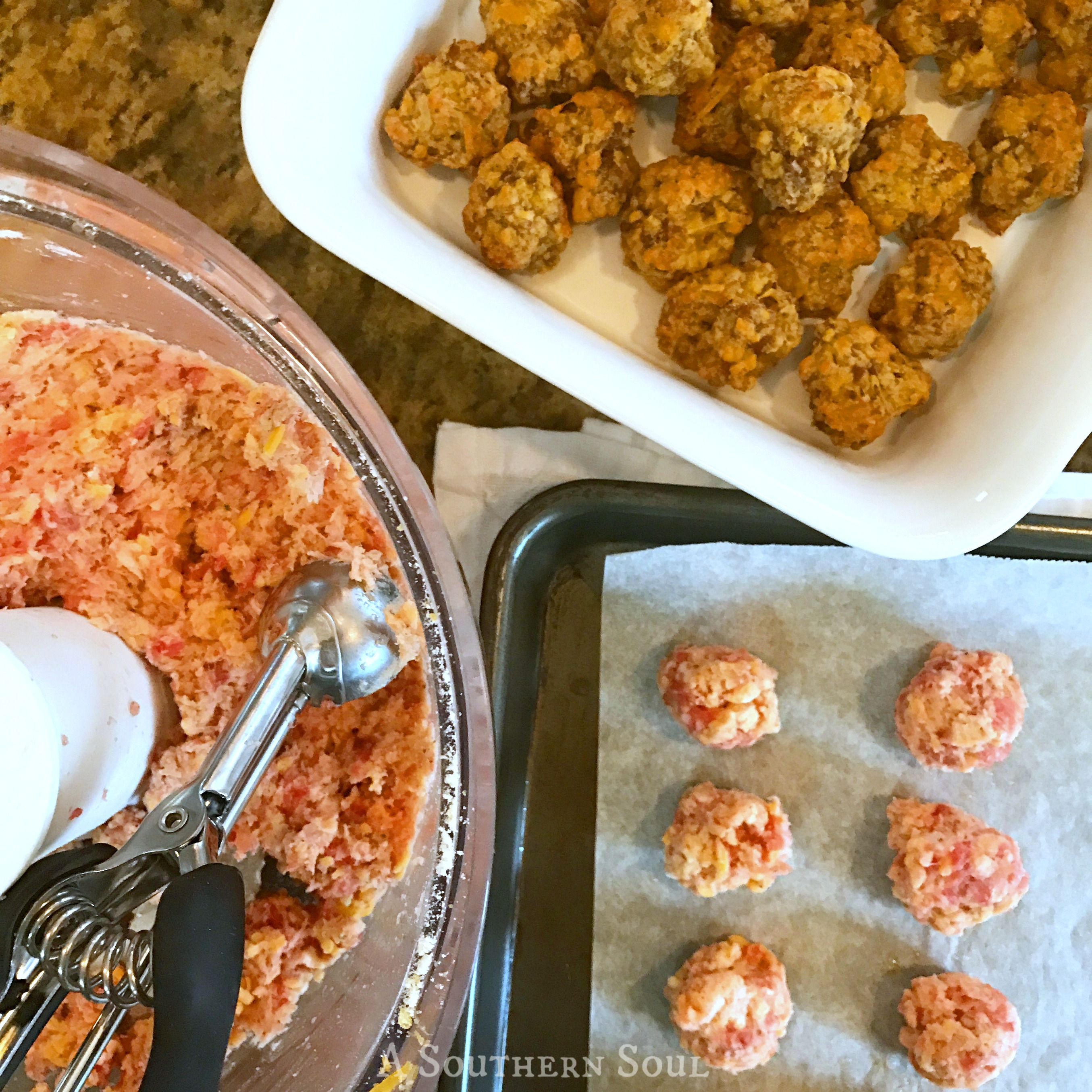 easy to make cheese balls