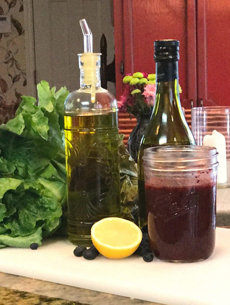 blueberry vinaigrette ingredients