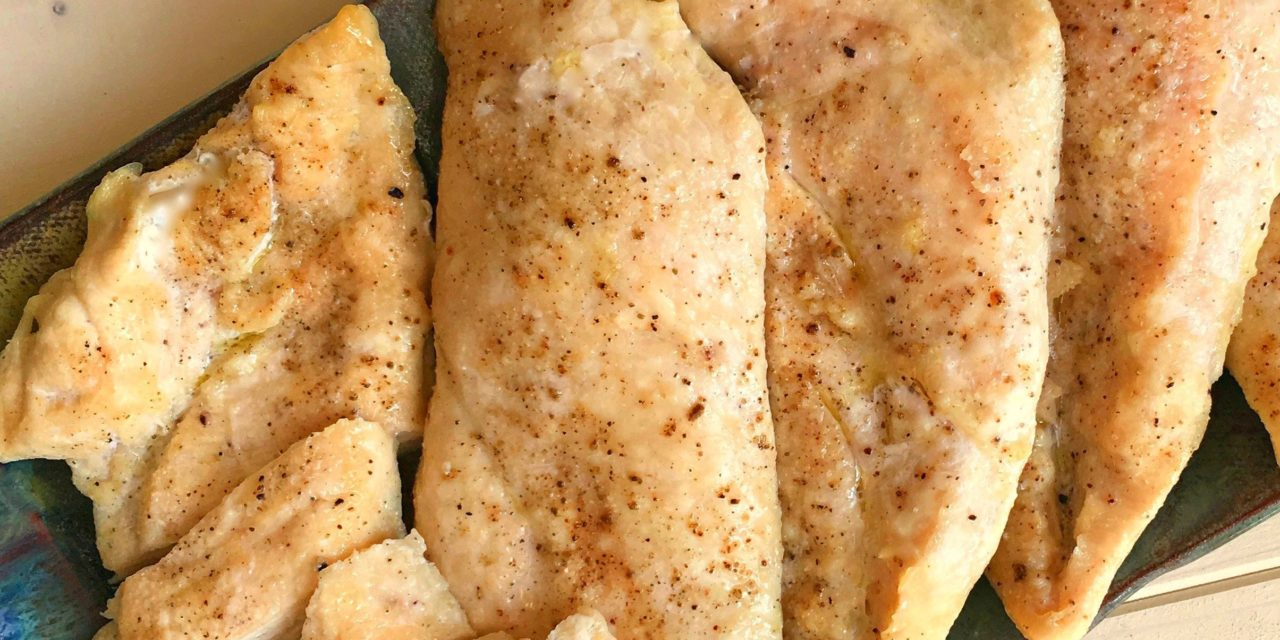 Easy Oven Roasted Chicken Breasts