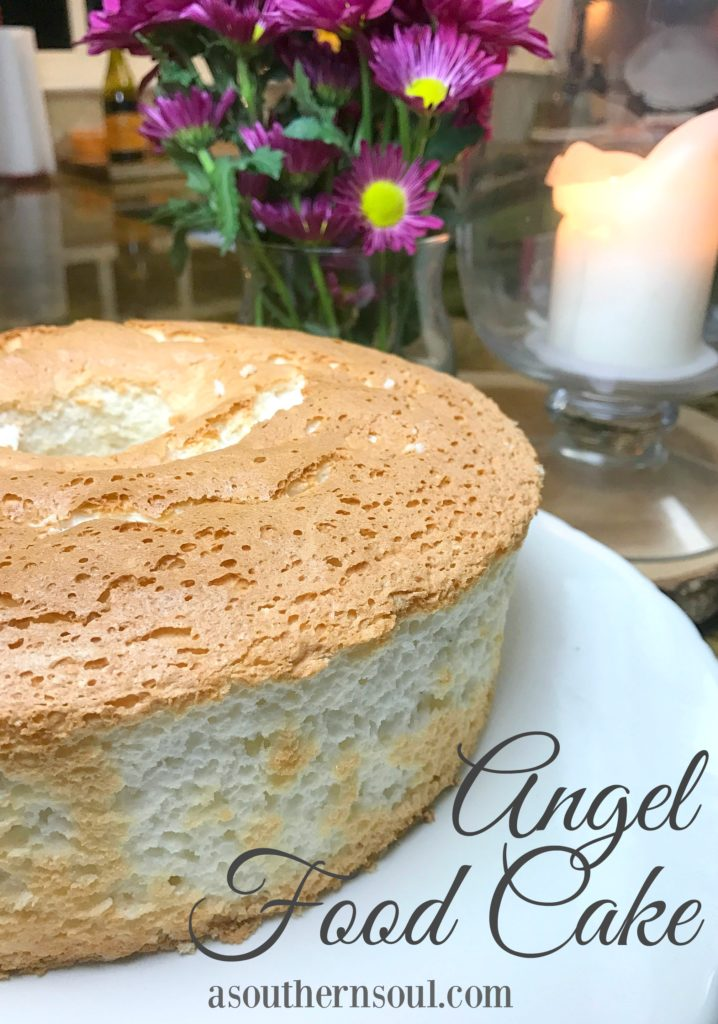 Angel Food Cake A Southern Soul