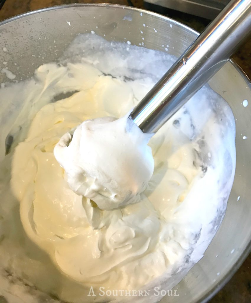 super easy whipped cream