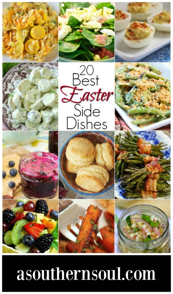 A collection of 20 Easter side dishes that are the best for this special holiday.